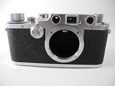 Leica Iiic 3C Très Propre Film Testé Iiic Shark Housse Lumière Télémètre