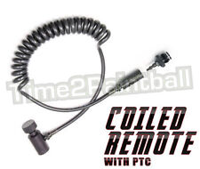 Ninja Paintball Ptc Coiled Remote Line (Push To Connect Hose Coupler) *Free Ship