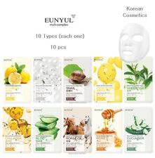 Korea EUNYUL Natural Mask 10 Types 10 pcs Moisturizing Nourishing Free Tracking