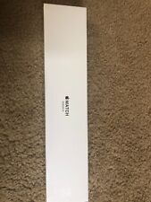 Apple Watch Series 3, 38mm Silver Aluminum, Sport Band White, GPS only - New