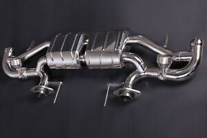 Capristo Aston Martin Vantage V12 Valved Exhaust System No Remote