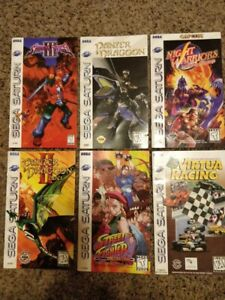 Sega Saturn Lot Game Manuals Only: Shinning Force 3 plus more!!! (No Games)