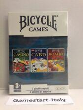 BICYCLE GAMES- CASINO CARD BOARD - PC COMPUTER - VIDEOGIOCO NUOVO SIGILLATO NEW