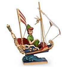 Disney Traditions Jim Shore SHOWCASE Figurine Peter Pan's Flight ATTRACTION NIB