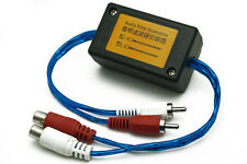 Auto Car sound system RCA Amplifier Audio Noise Filter Ground Loop Isolator