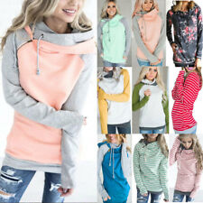 Damen Kaputzenpullover Mantel Pullover Kapuze Hoodie Sweatshirt Sweatjacke Tops