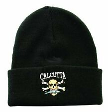 Calcutta Stocking Cap Black w/Full Logo BRS95428