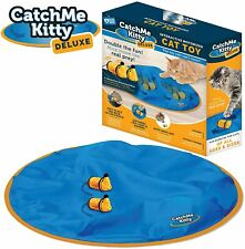 Catch Me Kitty DLX Interactive Cat & Mouse Toy Mice with Unpredictable Movement