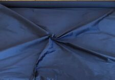 """DELUXE SMOOTH SILK ` 54"""" Wide MIDNIGHT cut from roll half metre price"""