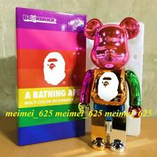 Bearbrick Medicom 2018 A Bathing Ape Bape 25th Anniversary Multi Color 400%