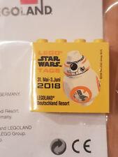 Lego Star Wars™ Días 2018 Legoland Alemania Resort Sammelstein BB-8 ™