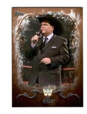 WWE Jim Ross #64 2016 Topps Undisputed Bronze Parallel Card SN 70 of 99