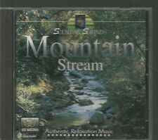 Scents & Sounds Mountain Stream Curtis Lawyer CD Authentic Relaxation Music