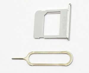 """OEM SIM Card Tray+Pin For Samsung Galaxy Note 5 for All US Carriers """"SILVER""""~ US"""