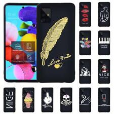 Case Fit Samsung Galaxy A10/ A20E/ A30S/ A40/ A50 /A70 TPU Silicone Phone Cover