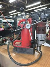 Milwaukee 120V Electromagnetic Drill Press, Adjustable Speed, Free Shipping
