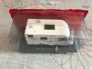 Voiture miniature Passion Camping Car Hymer Classe B 504 CL 2007 au 1/43