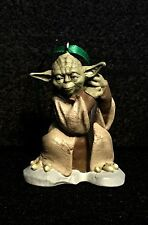 NEW Yoda Star Wars Empire Strikes Back Christmas Ornament PVC
