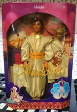 Vintage Disney Aladdin Doll With Abu  Free Priority shipping -NRFB-
