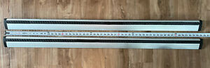 """Thule 53"""" AeroBlade Load Bar 135cm - Complete Set In Good Used Condition!!!"""