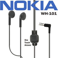 Genuine NOKIA WH-101, ORIGINAL 2.5MM STEREO HEADSET WITH MIC,