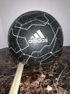 adidas Lionel Messi Soccer Ball Official Size 5 Black Barcelona Barca S90258