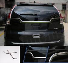 2pcs Stainless Steel Rear Door Cover Trim For Honda CRV CR-V 2012 2013 2014 2015