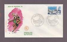FDC 1976 - Jeux Olympiques de Montréal    (2047)