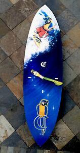 Corona Extra Beer  Surfboard Wall Clock Bar Man Cave Parrot Head SUPER RARE Work