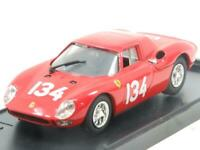 Model Box Diecast 8435 Ferrari 250 LM Nurburgring 1964 Red 1 43 Scale Boxed