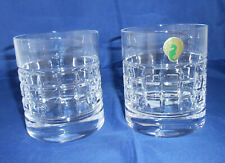 Waterford London Double Old Fashioned Glasses - Set of 2 - New