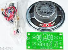 MORSE CODE KEYER WITH 2.5W SPEAKER  [ Unassembled Kit ] free 9V battery holder