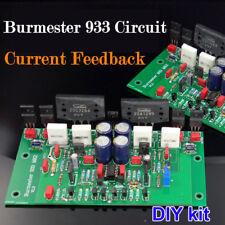 Hi-Fi Power Amplifier Stereo Amp DIY kit base on Burmester 933 Circuit Feedback