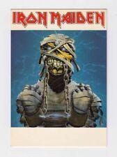 Cartolina IRON MAIDEN - cantanti postcard Made in E.E.C. Rock 'n Roll 2