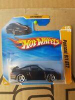 Hotwheels 2010 - Porsche 911 GT2 [BLACK] NEAR MINT SHORT CARD GOOD COMBINED POST