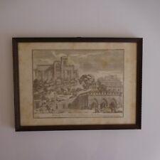 Reproduction gravure VEOVA DI FONTE BRANDA E S.DOMENICO DI SIENA 1775