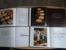 Yves THURIES - collection de 4 tomes de recettes en TBE