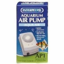 Interpet AP Mini AP1 Aquarium Air Pump Aqua Air Fish Tank Oxygen Bubbles Pet