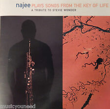 Najee - Plays Songs from the Key of Life (CD, 1995, EMI) Near MINT 10/10