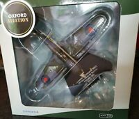 OXFORD AVIATION DIECAST HAWKER HURRICANE MK1 NAVAL PLANE NEW 1:72 SCALE AC059
