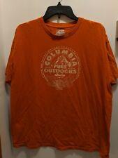 Columbia Men's Large Outdoors Orange T Shirt
