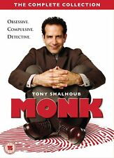 MONK- THE COMPLETE COLLECTION- 34 DISCS