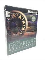 SEALED Microsoft Encarta 97 Encyclopedia Deluxe Edition New