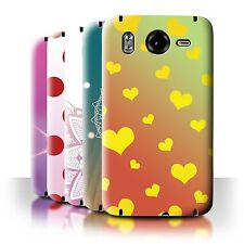 STUFF4 Back Case/Cover/Skin for HTC Desire HD/G10/Ombre Pattern