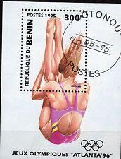 0121+  BENIN  BLOC  ATLANTA  1996  NATATION