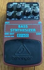 behringer bass synthesizer - Bsy600
