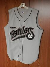 1998 WISCONSIN TIMBER RATTLERS BASEBALL JERSEY GAME WORN ISSUE MILB pennant LOT