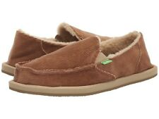 Women's Shoes Sanuk Donna Hemp Chill Cord Slip On Loafer 1099971 Tobacco *New*