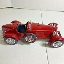 1/18 Scale Burago 1931 Alfa Romeo 8C  2300 Monza Car