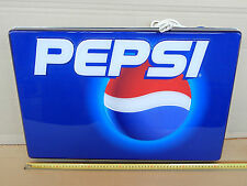 INSEGNA LUMINOSA ANNO 1998 NEON PEPSI COLA SIGN OLD PROMO